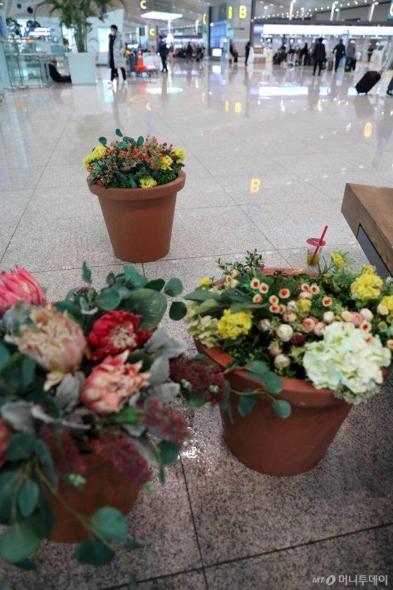 [사진]개장 2년만에 비 새는 인천국제공항 제2청사
