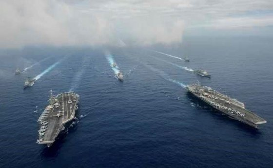 미군 항공모함. / 사진 = 로이터