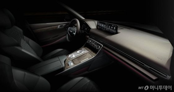 제네시스 브랜드 첫 SUV인 'GV80'의 디자인 모습. /사진제공=제네시스