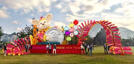 홍콩관광청은 캐세이퍼시픽 항공과 함께 오는 25일부터 28일까지 나흘 간 홍콩 서구룡 문화 지구 아트 파크에서 '캐세이퍼시픽 인터내셔널 설 카니발'을 개최한다. /사진=홍콩관광청