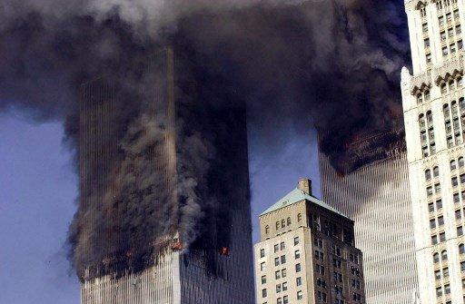 9.11 테러당시 모습/사진=AFP