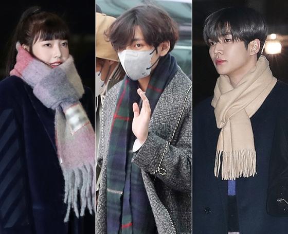 그룹 레드벨벳 조이, 방탄소년단 뷔, SF9 로운 /사진=뉴스1, 머니투데이 DB