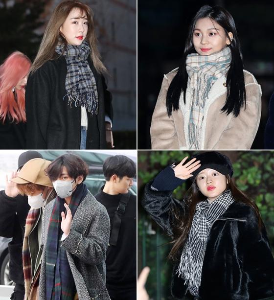 그룹 우주소녀 연정, 여자친구 엄지, 방탄소년단 뷔, 오마이걸 유아 /사진=뉴스1, 머니투데이 DB
