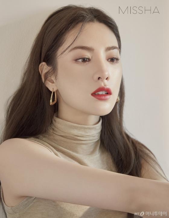 브랜드 모델 가수 겸 배우 나나 /사진제공=미샤