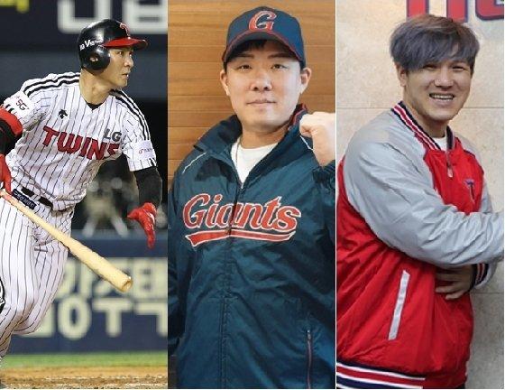 오지환(왼쪽부터), 안치홍, 김선빈. /사진=각 구단 제공