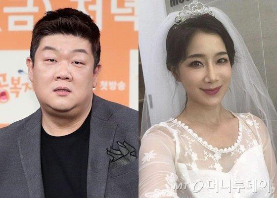 유민상(왼쪽)과 김하영/사진=머니투데이DB, 김하영 인스타그램