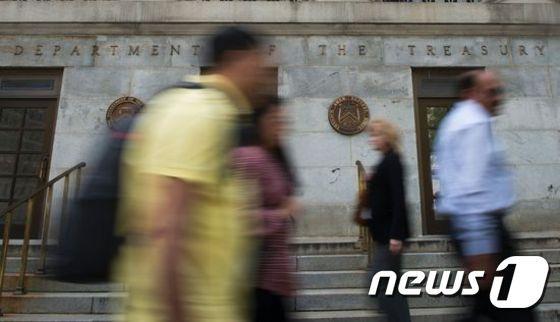 미국 재무부. © AFP=뉴스1