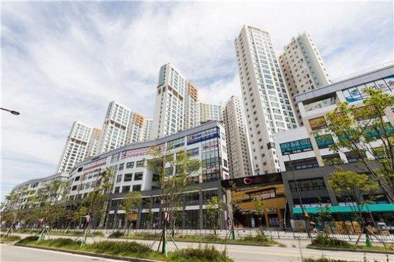 국토교통부 '에너지 베스트 아파트단지' 우수상을 수상한 '세종 반도유보라' 모습/사진= 반도건설