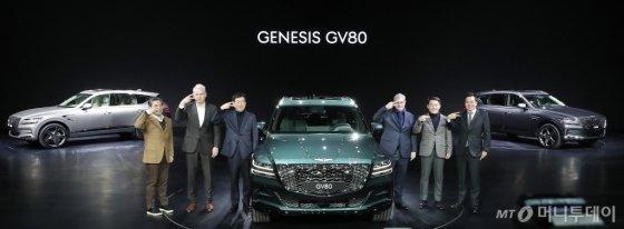 [사진]제네시스 첫 SUV 'GV80' 본격 판매 시작