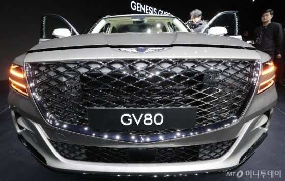 [사진]럭셔리함 느껴지는 'GV80'