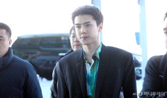 [영상]엑소 세훈 '훈남의 공항패션'