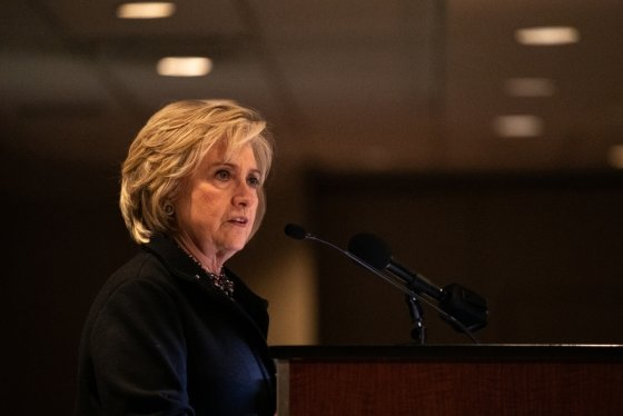 힐러리 클린턴 전 미 민주당 대선후보. /사진=AFP