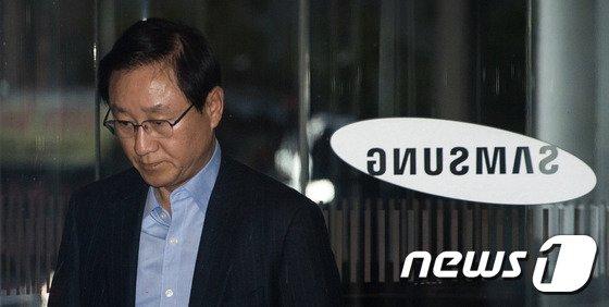 김신 전 삼성물산 대표. 2016.12.7/뉴스1 © News1 유승관 기자