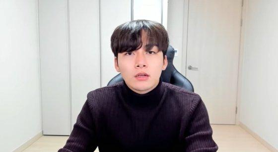 '폭행 논란'에 해명 동영상을 올린 유튜버 송대익. /사진 = 송대익 유튜브 갈무리