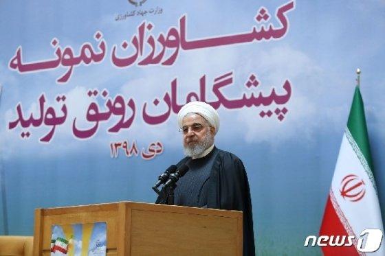 하산 로하니 이란 대통령. © AFP=뉴스1
