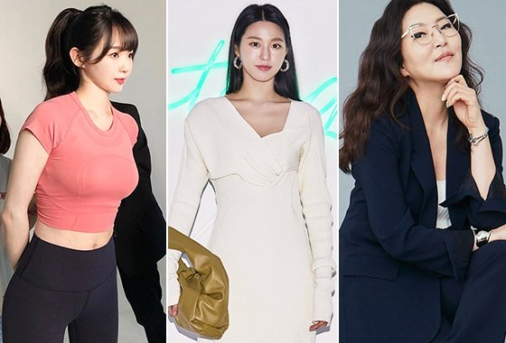 그룹 다비치 강민경, AOA 설현, 한혜연 스타일리스트/사진=각 스타 인스타그램, 보테가 베네타