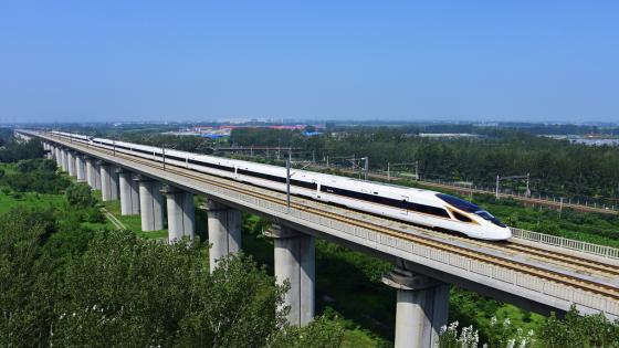 중국 베이징~상하이 고속철도. /사진=징후가오티에 홈페이지