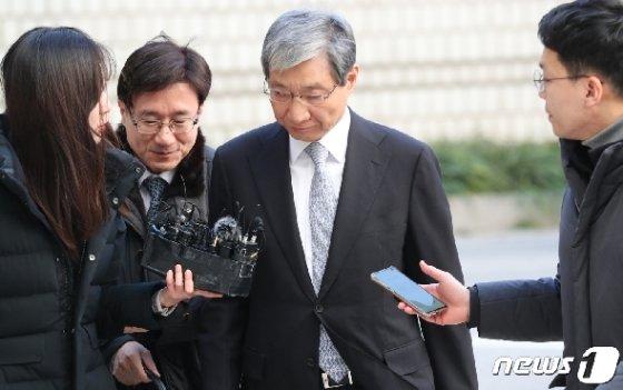 장충기 전 삼성전자 미래전략실 차장(사장).. /뉴스1 © News1 허경 기자