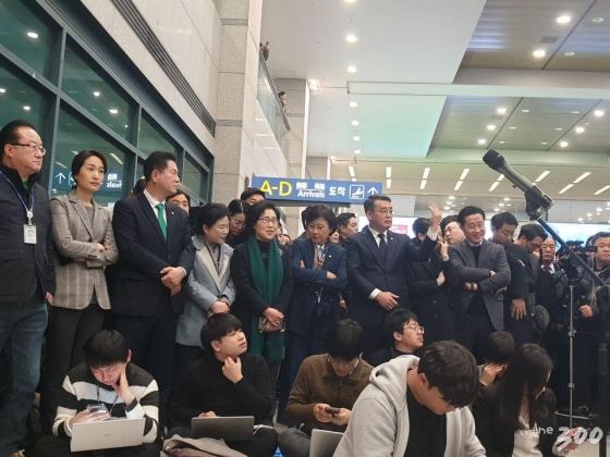 안철수 온다!…공항 달려간 '국민의당 출신' 의원들