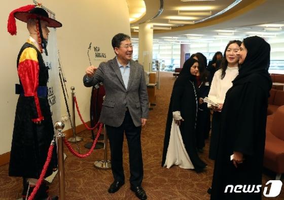 [사진] 두바이에 퍼지는 한국문화