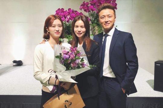 배우 박시은, 진태현 부부와 공개입양한 딸 세연양./사진=진태현 인스타그램 캡처
