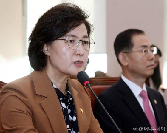 추미애 법무부 장관./사진=홍봉진 기자