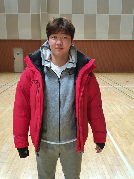 '6kg 감량' 한화 김범수
