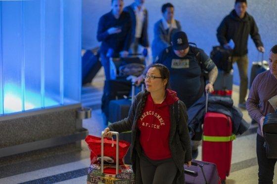 미국은 지난주부터 공항 검역을 강화했다. /AFPBBNews=뉴스1