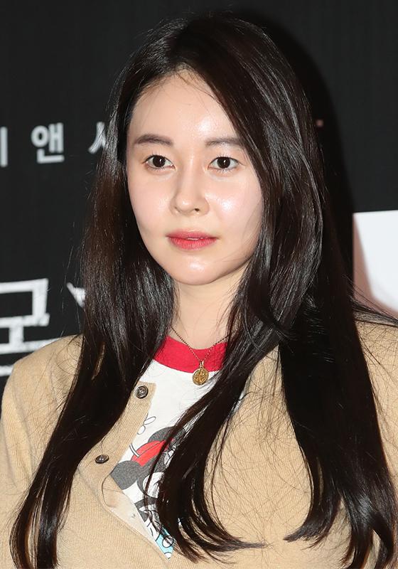 영화 '목격자:눈이 없는 아이' VIP 시사회에 참석한 배우 허이재/사진=뉴스1