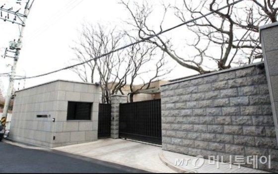 이명희 신세계그룹 회장의 한남동 소재 단독주택/사진= 머니투데이DB