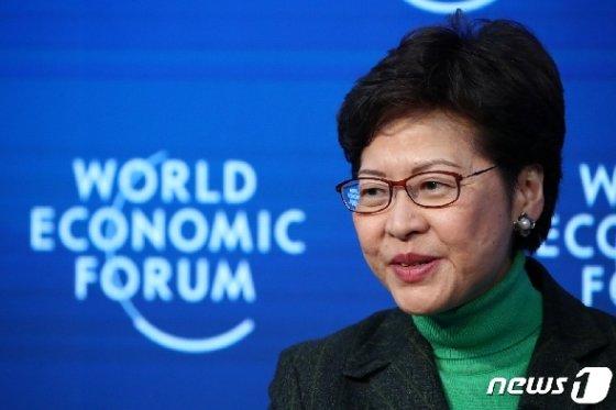 캐리 람 홍콩 행정장관 © 로이터=뉴스1