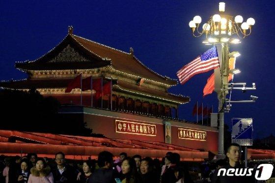 중국 자금성 © 로이터=뉴스1