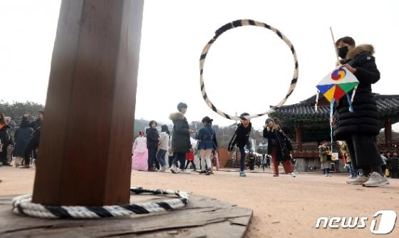 [사진] 설날, 즐기는 전통놀이