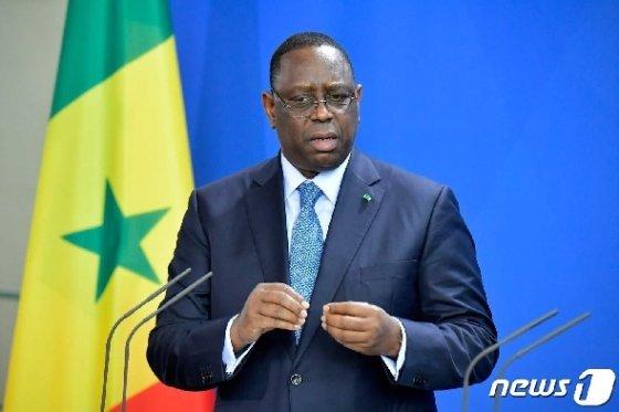 마키 살 세네갈 대통령 © AFP=뉴스1