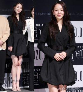 '결백' 신혜선, 봉긋한 미니 드레스…세련미 '물씬'