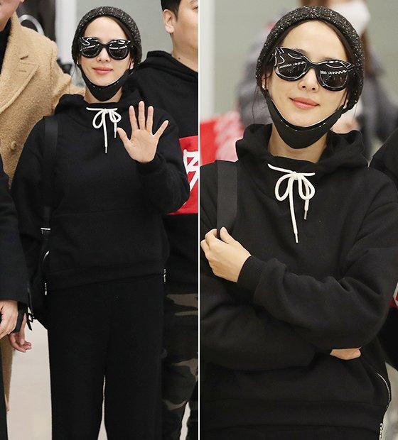 제92회 미국 아카데미 시상식에 참석한 후 귀국한 배우 조여정/사진=뉴스1