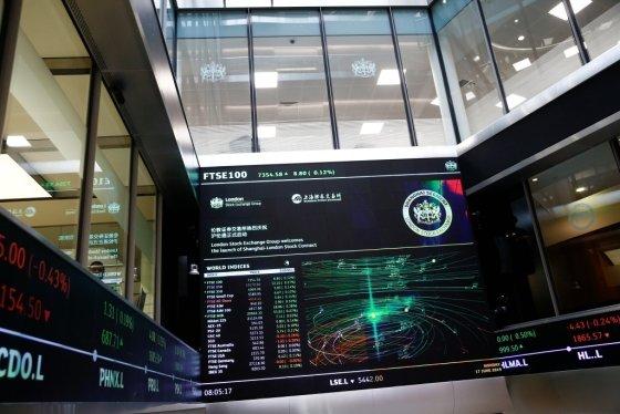 런던증권거래소 /사진=AFP