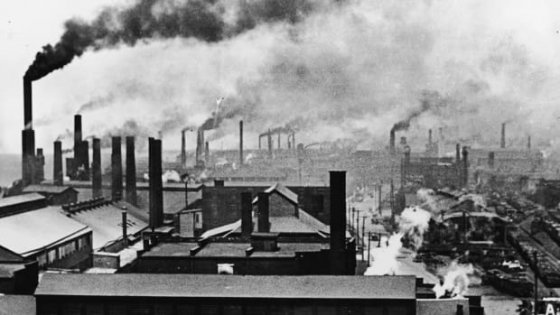 영국 산업혁명 당시의 모습 /사진=getty images