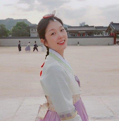 故 배우 고수정의 생전 모습./사진=고수정 인스타그램 캡처
