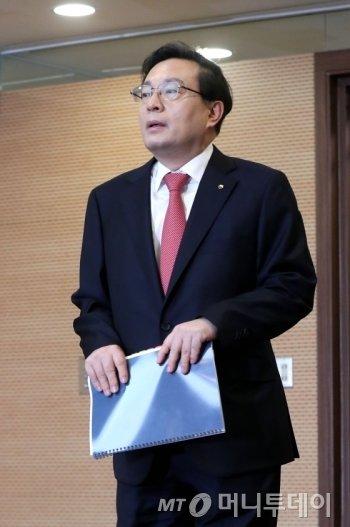 손태승 우리금융지주 회장 / 사진=홍봉진 기자 honggga@
