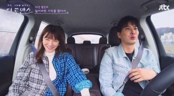 왼쪽부터 배우 유인영, 김지석./사진=JTBC