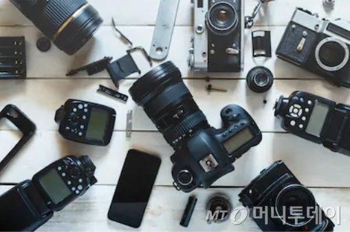 디지털카메라들/사진=머니투데이