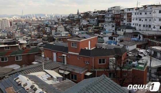 서울시 용산구 한남3구역 전경 /사진=뉴스1