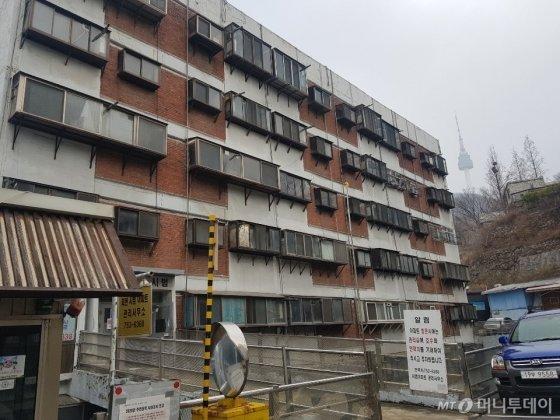 회현동 시민아파트 전경/사진=조한송 기자
