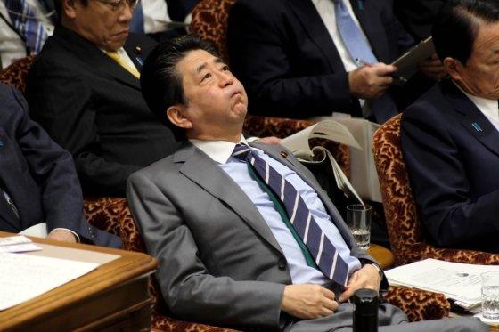 아베 신조 일본 총리. /사진=AFP