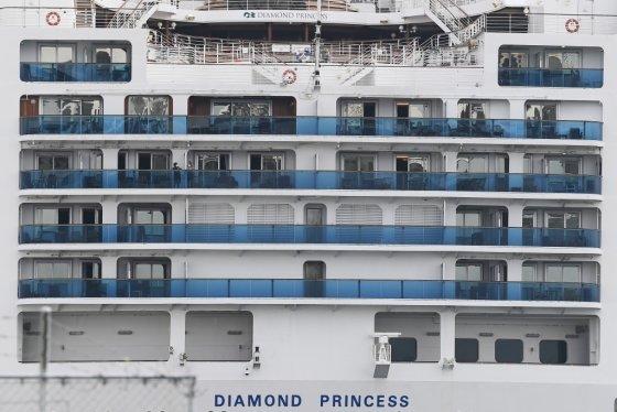 다이아몬드 프린세스호. /사진=AFP