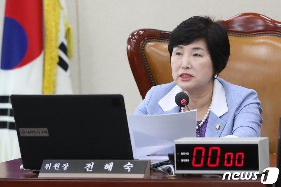 전혜숙 행정안전위원장/사진=뉴스1