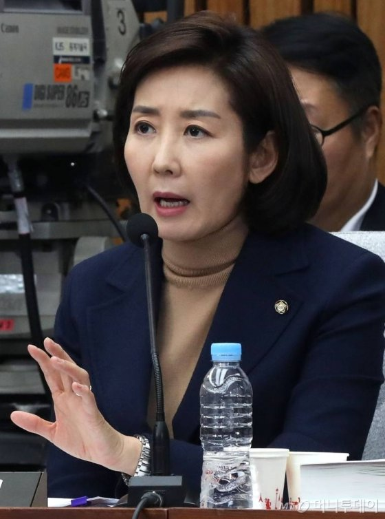 나경원 자유한국당 의원 / 사진=홍봉진 기자 honggga@