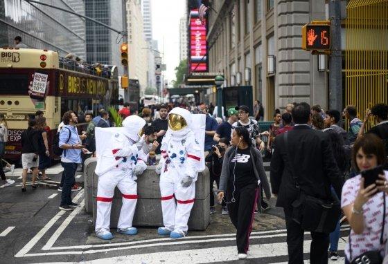 뉴욕시내 모습. /AFPBBNews=뉴스1
