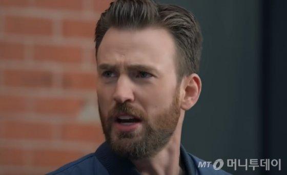 현대차 슈퍼볼 광고 '스마트 파크'에 등장한 배우 크리스 에반스. /사진=HyundaiUSA 유튜브 캡처